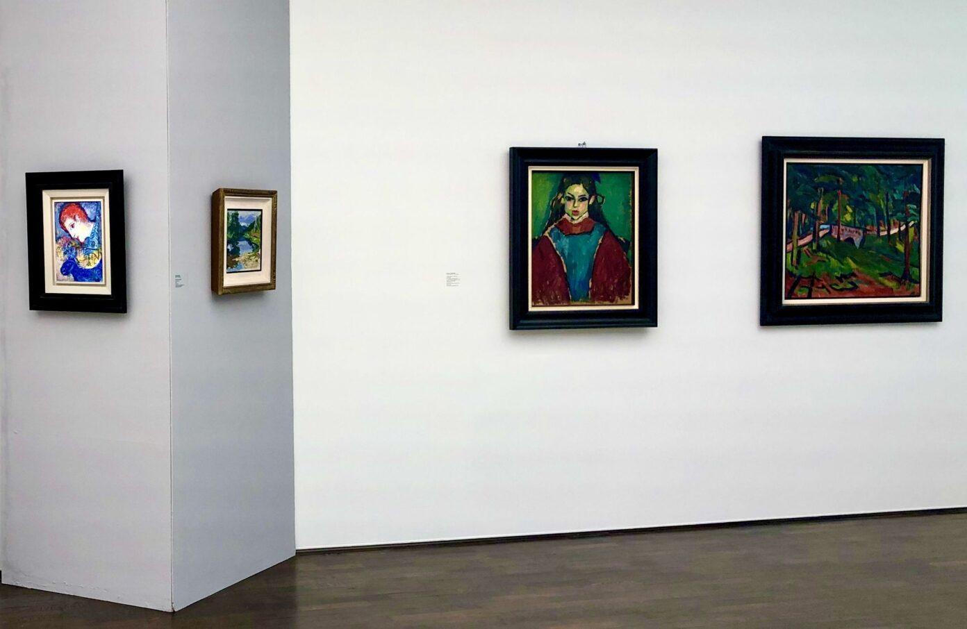 Chagall Muenter Jawlensky Heckel