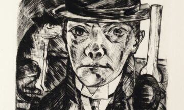 Max Beckmann - Self-Portrait in Bowler Hat