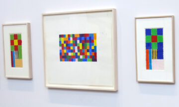 Peter Halley - Patterns and Figures, Gouaches 1977/78 - 2018