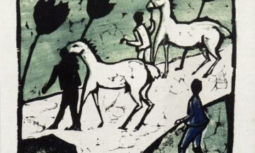 Erich Heckel - White Horses