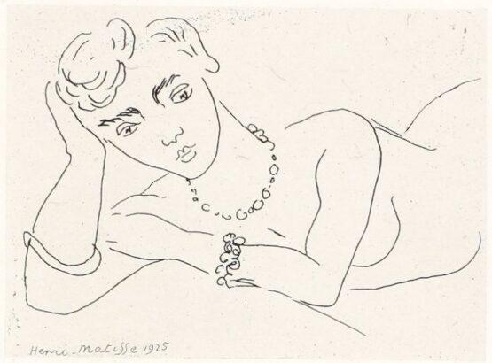 Henri Matisse - Femme allongée