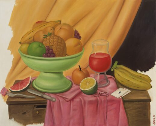 Fernando Botero - Still Life with Playing Cards