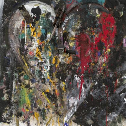 Jim Dine - Mirror the cleft