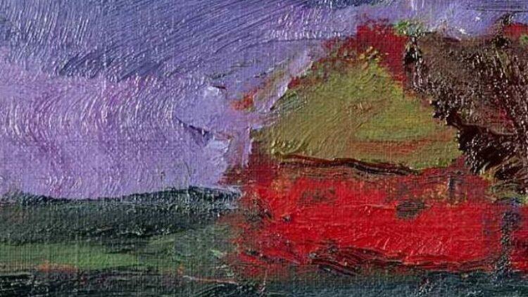 Emil Nolde - Landscape Petersen II