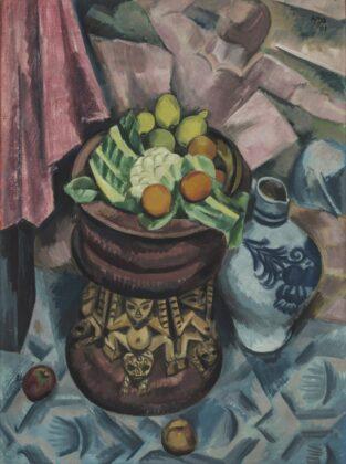 Max Pechstein - Still Life in Grey