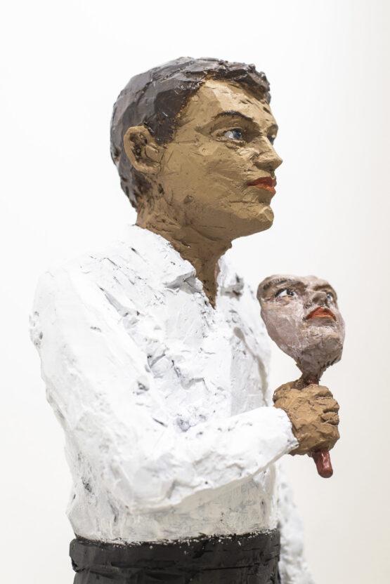 Stephan Balkenhol -Mann mit Maske
