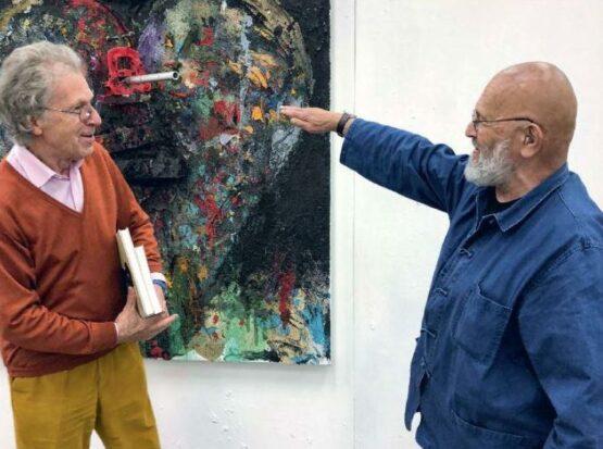 Raimund Thomas und Jim Dine - Studio Visit - 2018