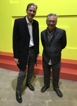 Peter Halley und Jörg Paal - Heterotopia I - Ausstellung in Venedig - 2019