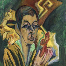 Ernst Ludwig Kirchner - Portrait Nele van de Velde