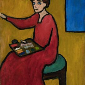 Gabriele Muenter - Beim Malen