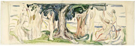 Edvard Munch - Lebensbaum