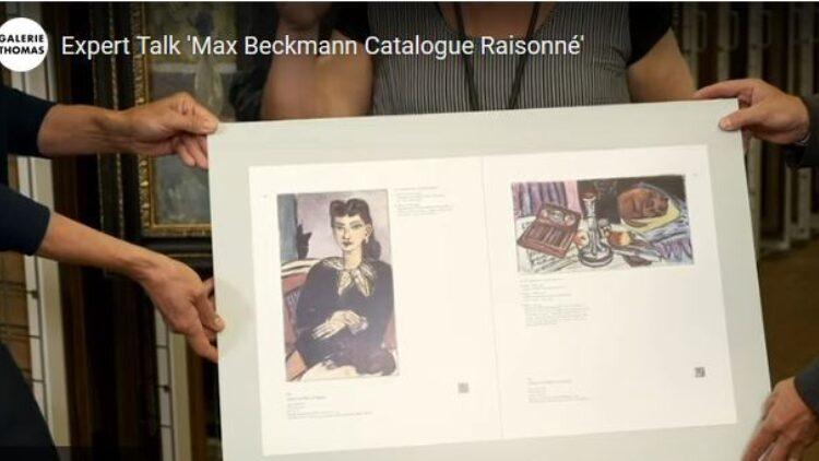 Beckmann Expert Talk Catalogue Raisonne