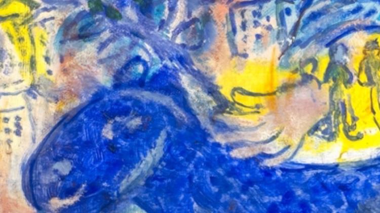 Marc Chagall - Le Peintre à la Tour Eiffel