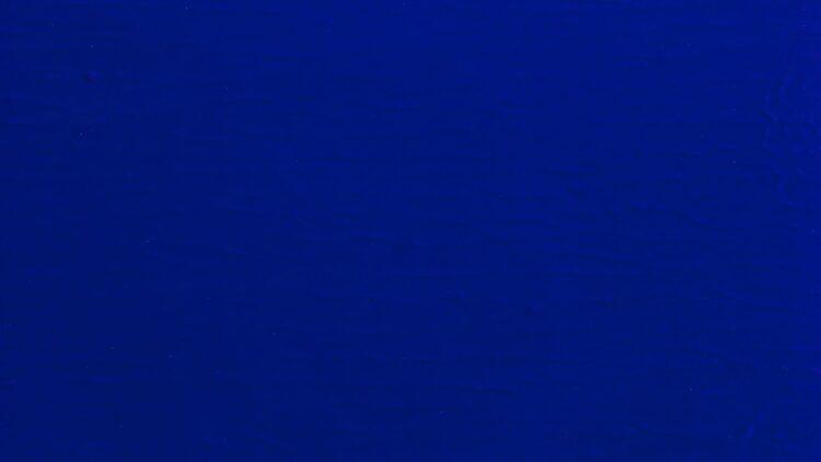 Yves Klein - Monochrome bleu IKB 293