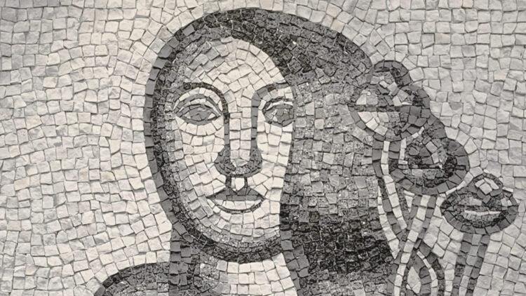 after Fernand Léger - Deux femmes aux fleurs sur fond gris