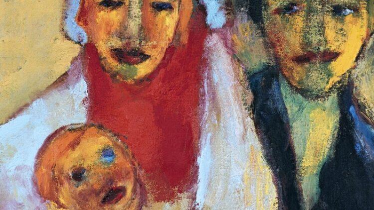 Emil Nolde - Junge Familie
