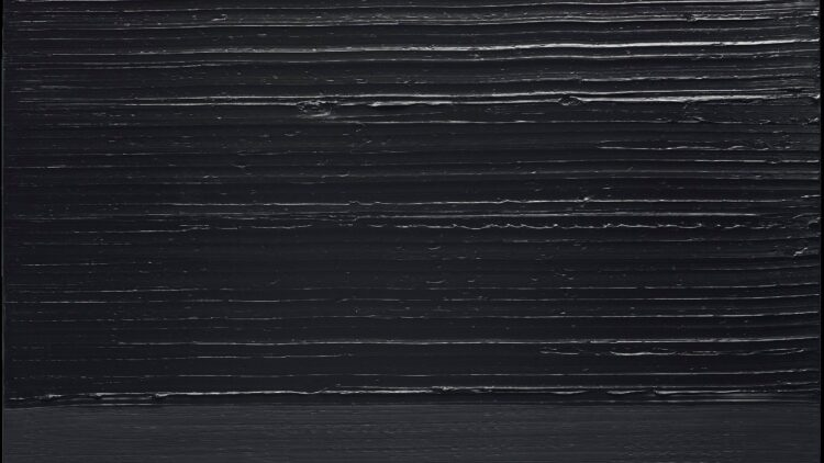 Soulages Peinture 202 x 159 cm 28 octobre 2013 2013 Detail 01 367514 d