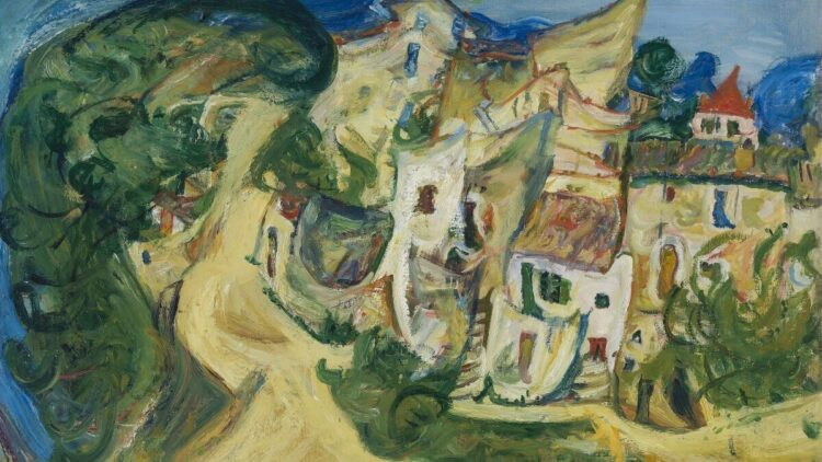 Chaim Soutine - Landschaft in Cagnes