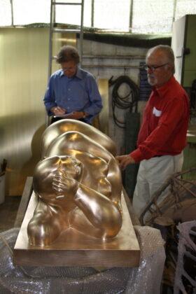 Raimund Thomas und Fernando Botero