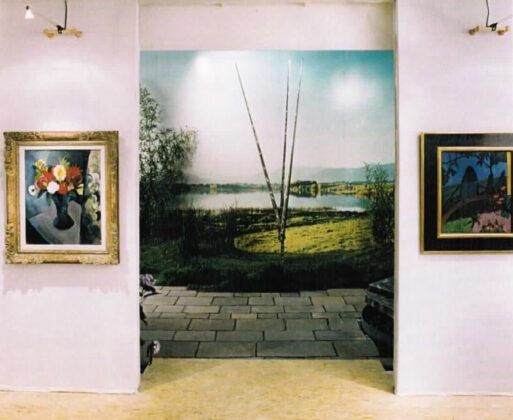 Art Basel 1996 - George Rickey Three Lines Ten Feet