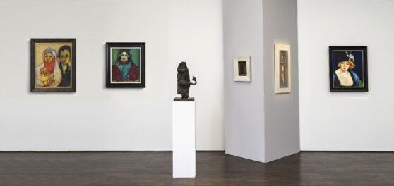 Ausstellungsansicht Figuren