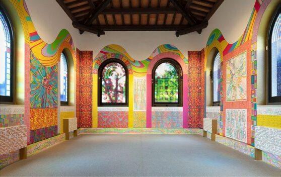 Peter Halley - Antesteria Museo Nivola 2021