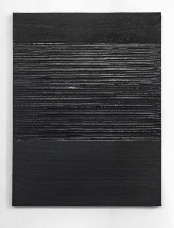 Pierre Soulages - Peinture 202 x 159 cm 28 octobre 2013