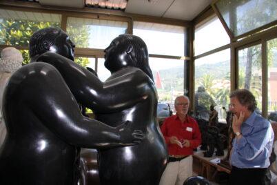 Fernando Botero und Raimund Thomas