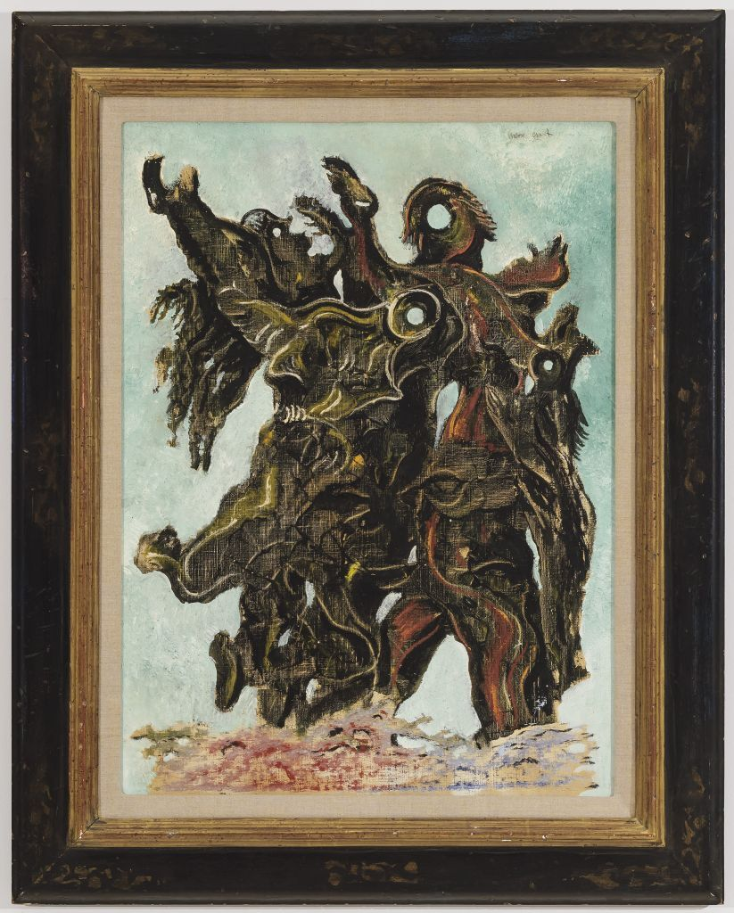Max Ernst - Femmes traversant une rivière en criant 2/4