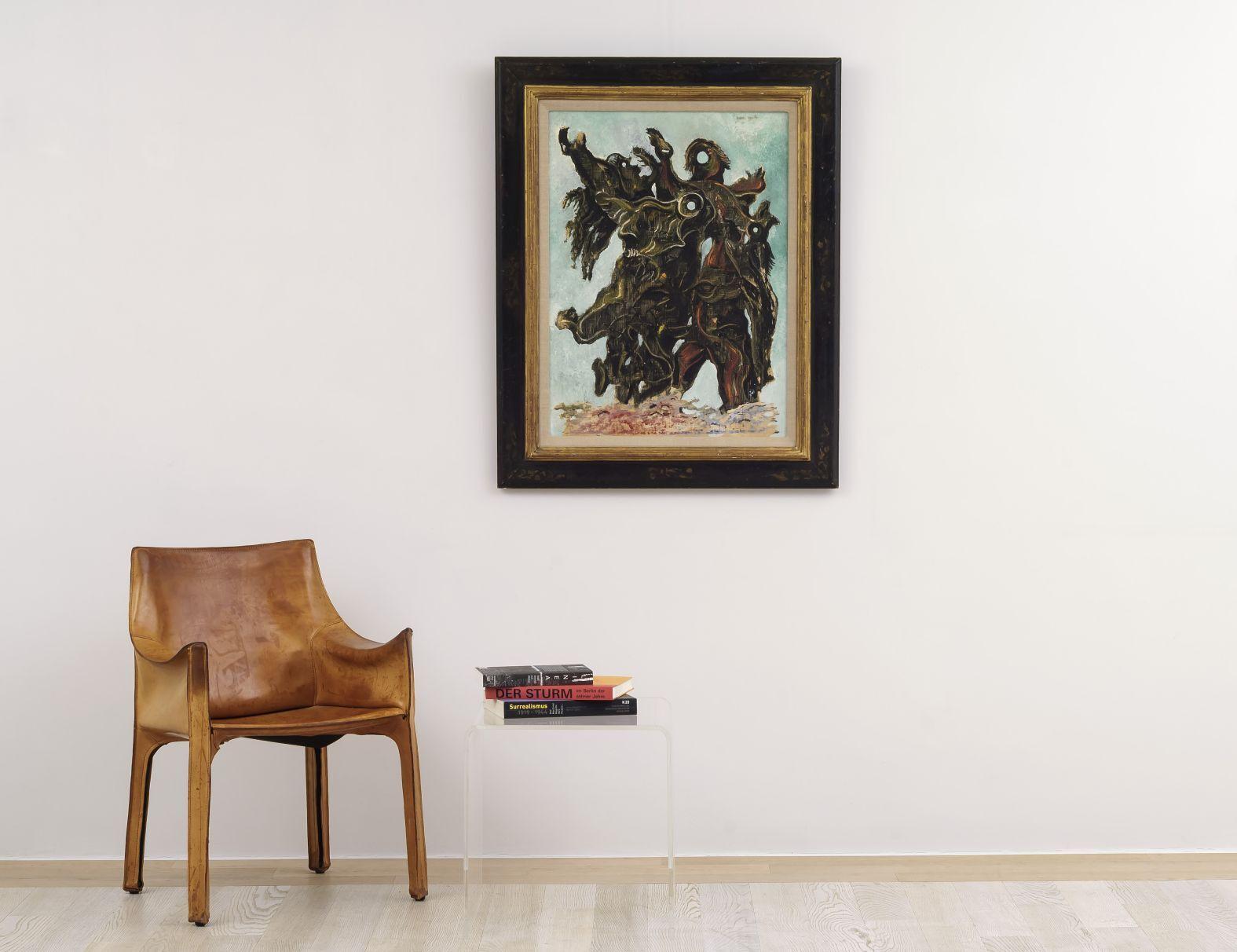 Max Ernst - Femmes traversant une rivière en criant 3/4