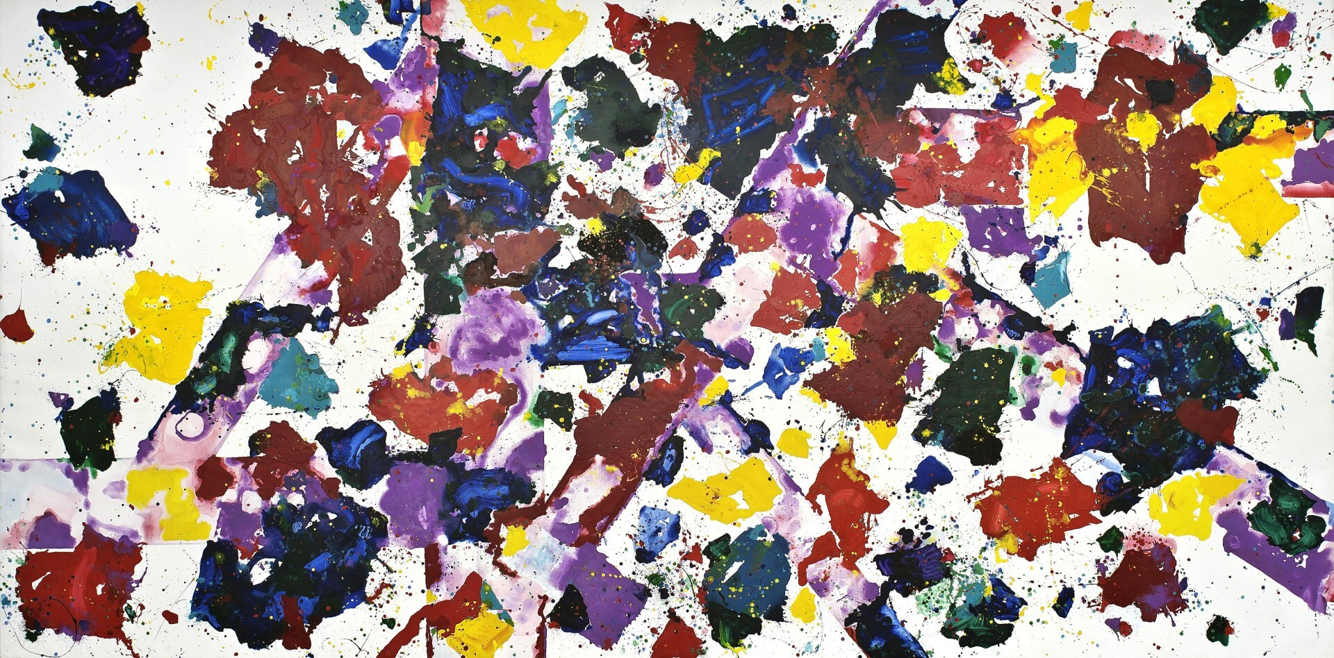 Sam Francis - Untitled 1/3