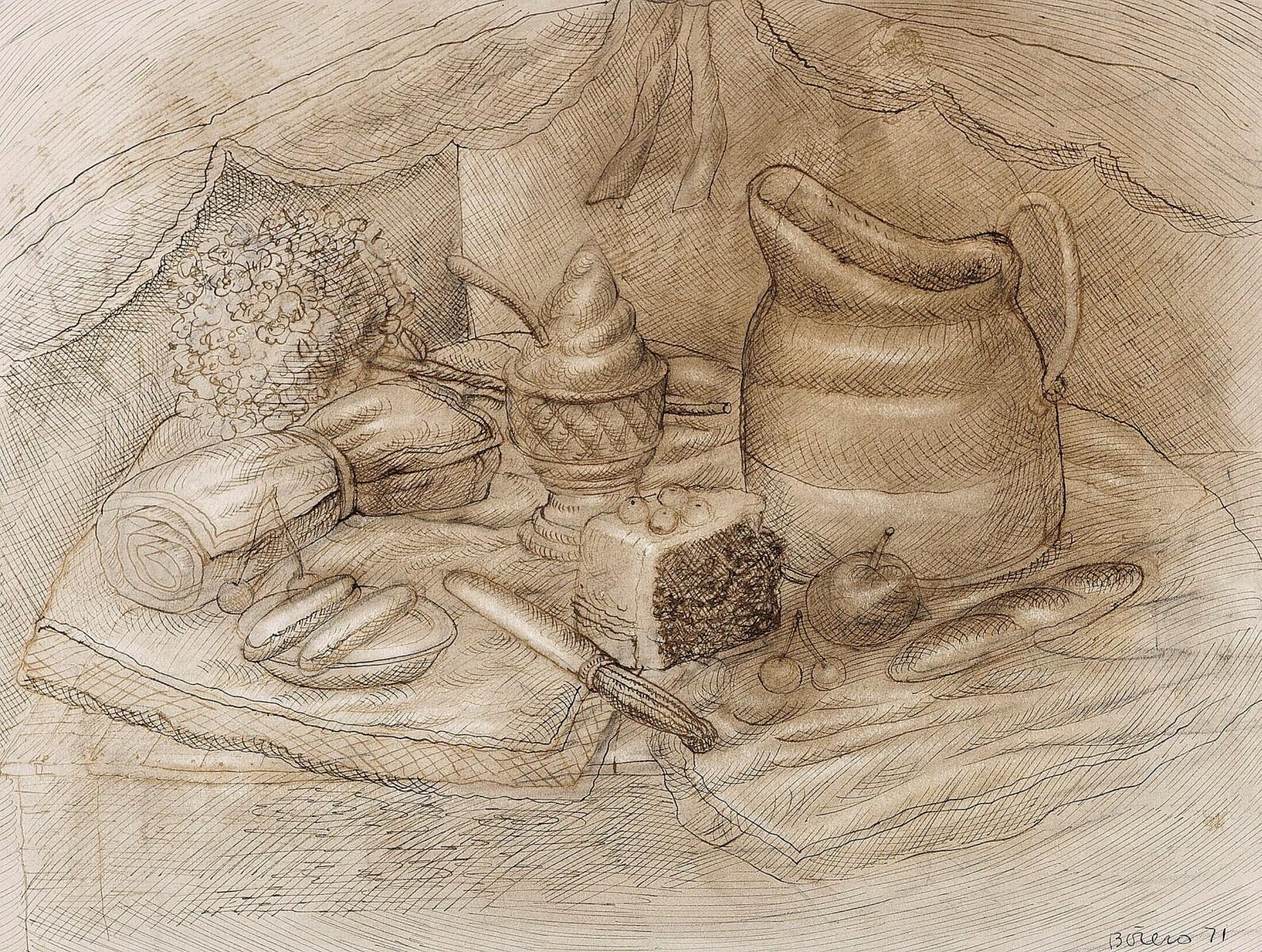 Fernando Botero - Still Life