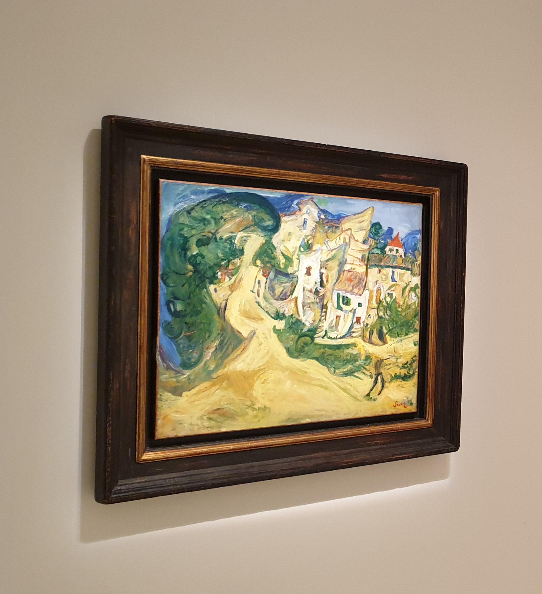 Chaim Soutine - Landscape at Cagnes 3/3