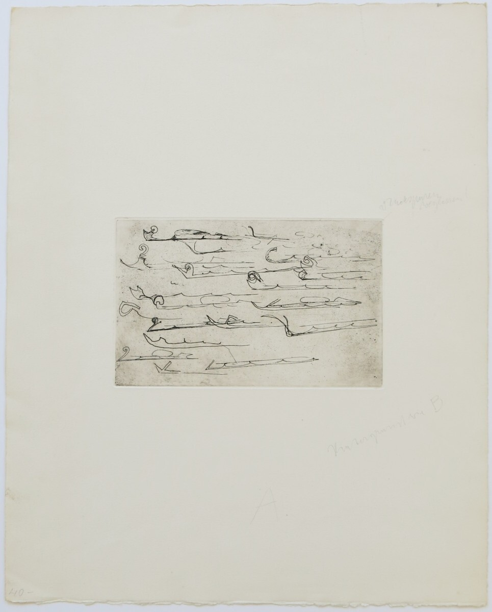 Joseph Beuys - Suite Zirkulationszeit - Urschlitten 2 1/2