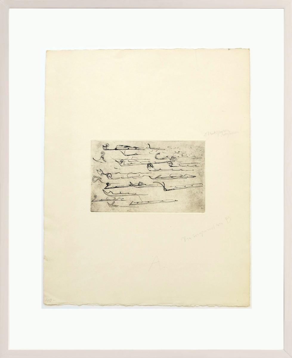 Joseph Beuys - Suite Zirkulationszeit - Urschlitten 2 2/2
