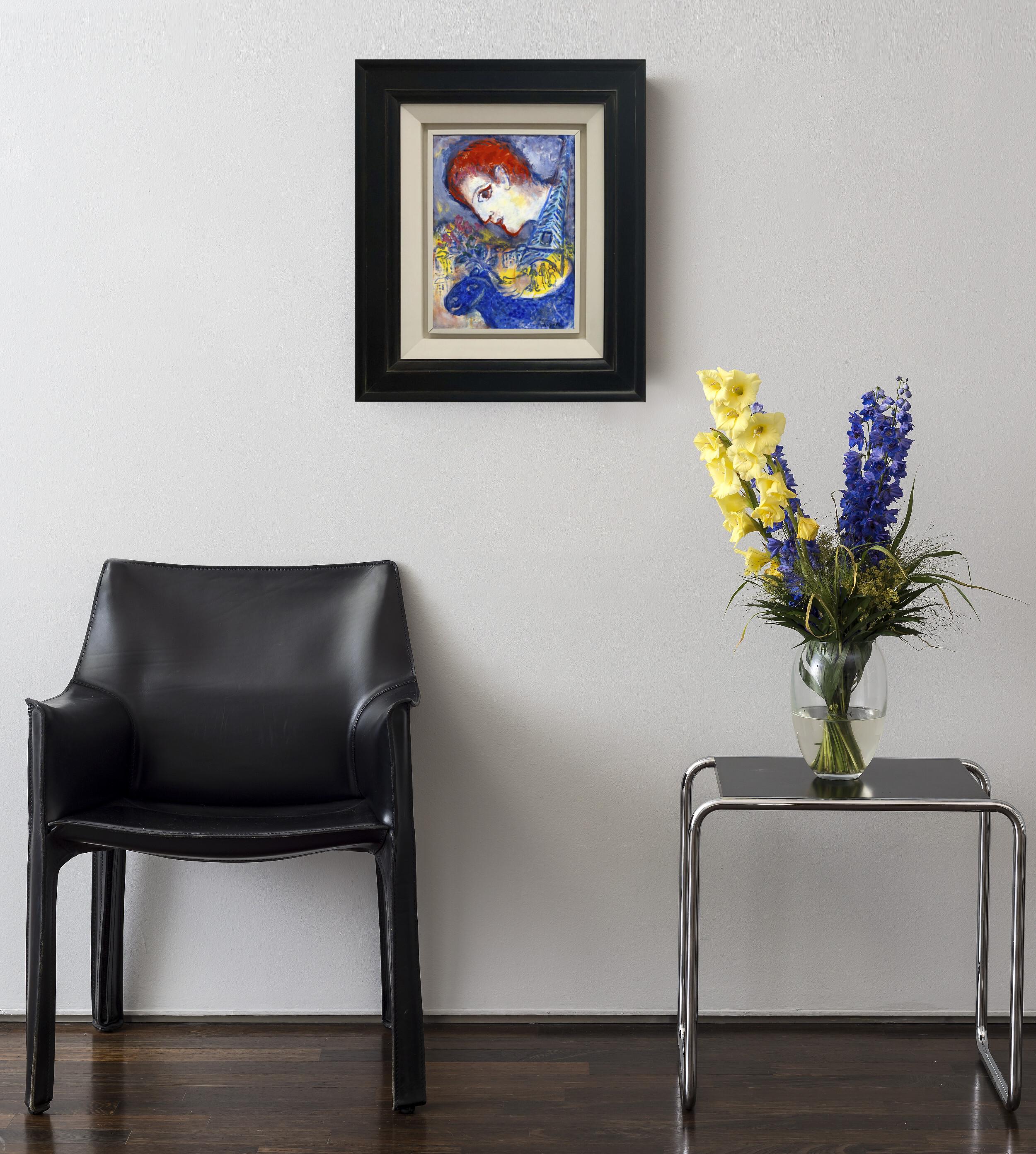 Marc Chagall - Le peintre à la Tour Eiffel 3/3