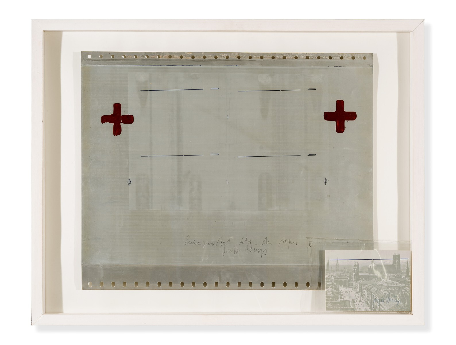 Joseph Beuys - Eurasienstab über den Alpen II