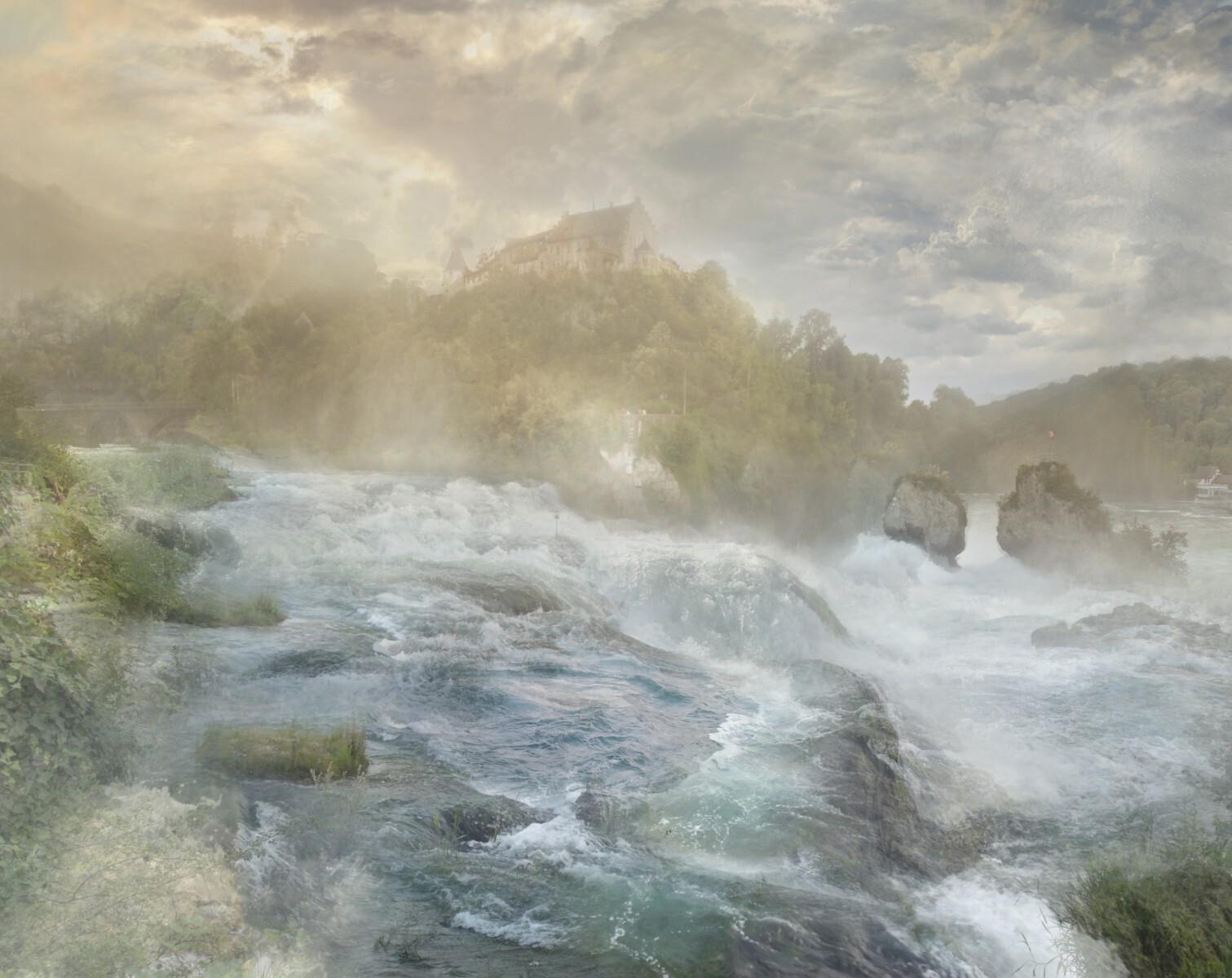 Hiroyuki Masuyama - J.M.W. Turner, The Falls of the Rhine at Schaffhausen, 1841
