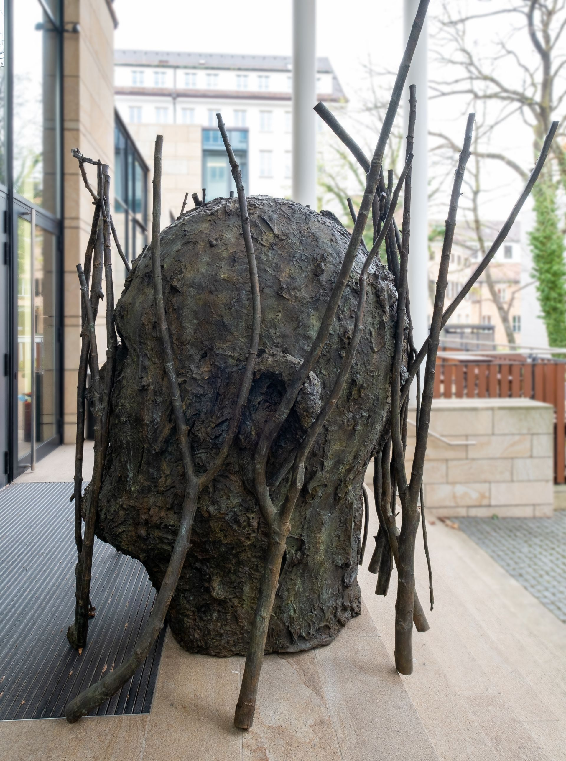Jim Dine - Jim's Head with Branches 3/5