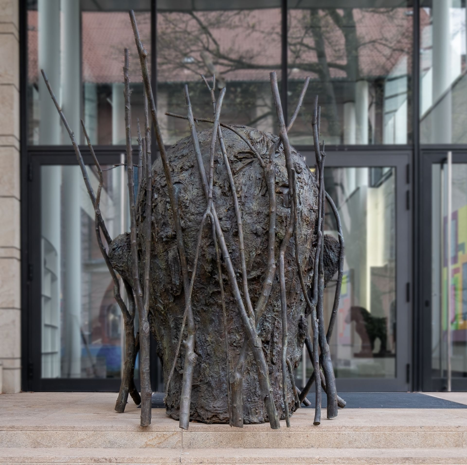Jim Dine - Jim's Head with Branches 4/5
