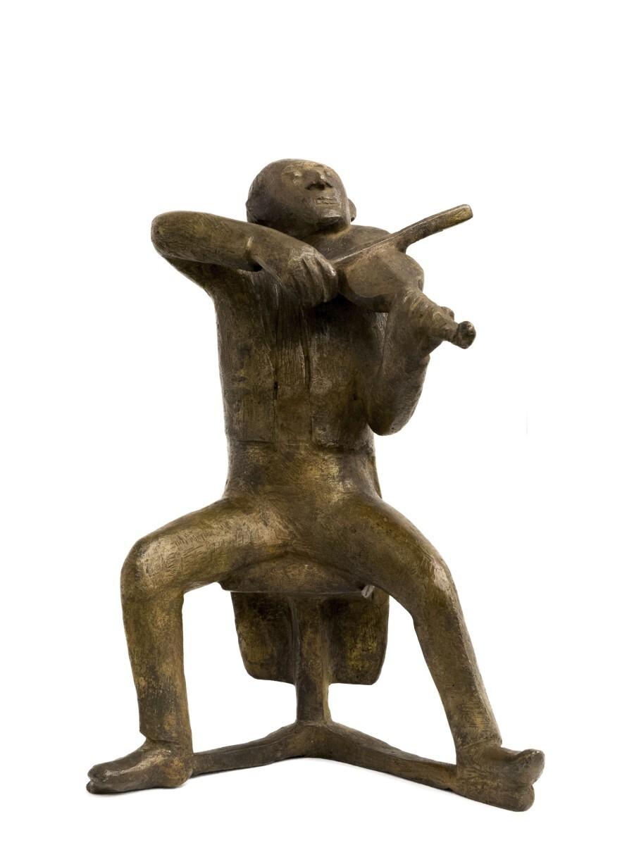 Gerhard Marcks - Seated Violin Player 6/6
