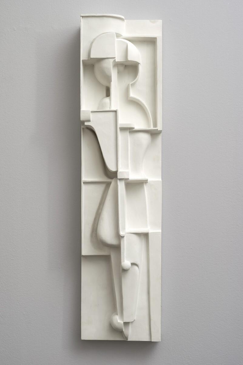 Oskar Schlemmer - Bauplastik R 1/3