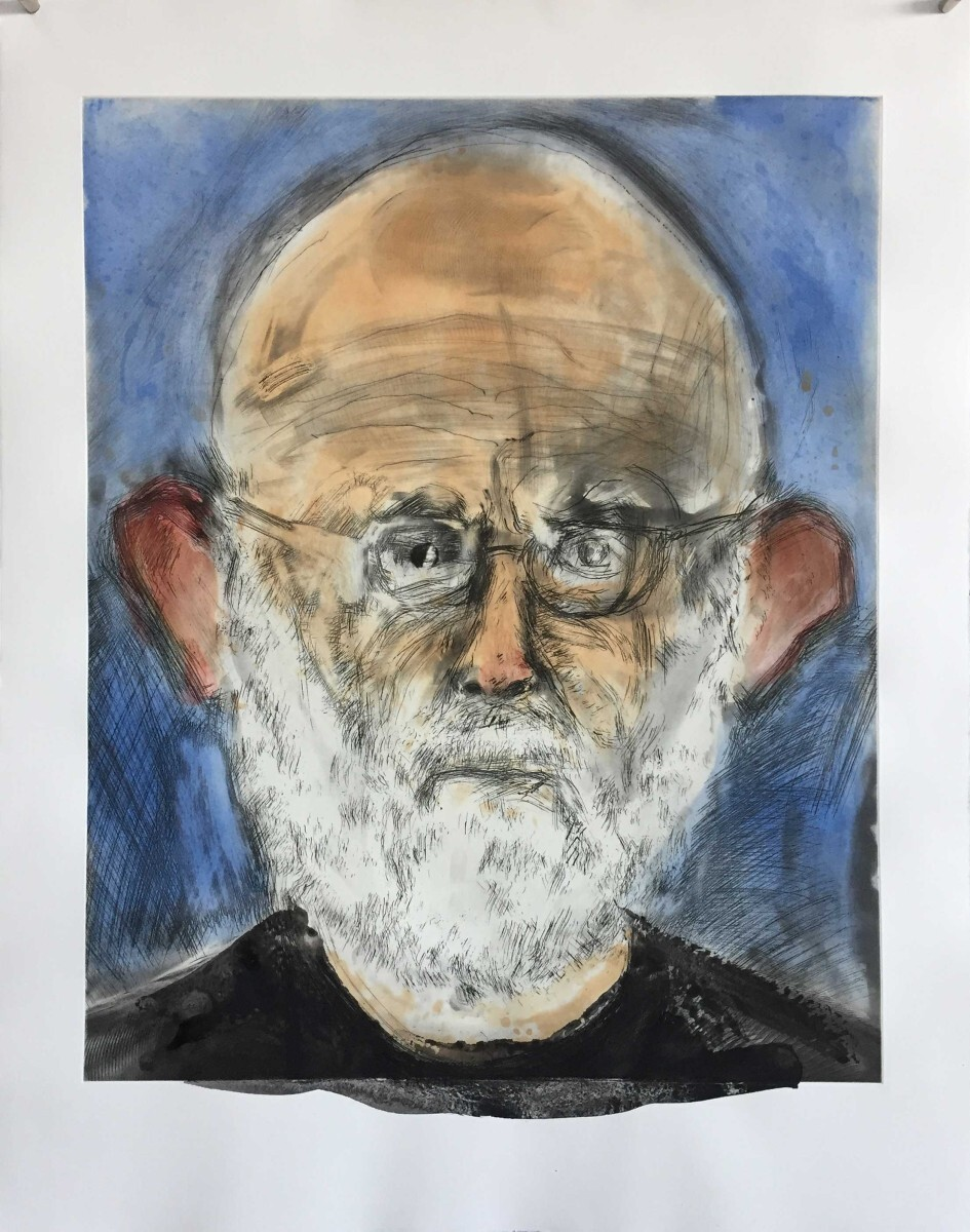Jim Dine - Self-Portrait 6