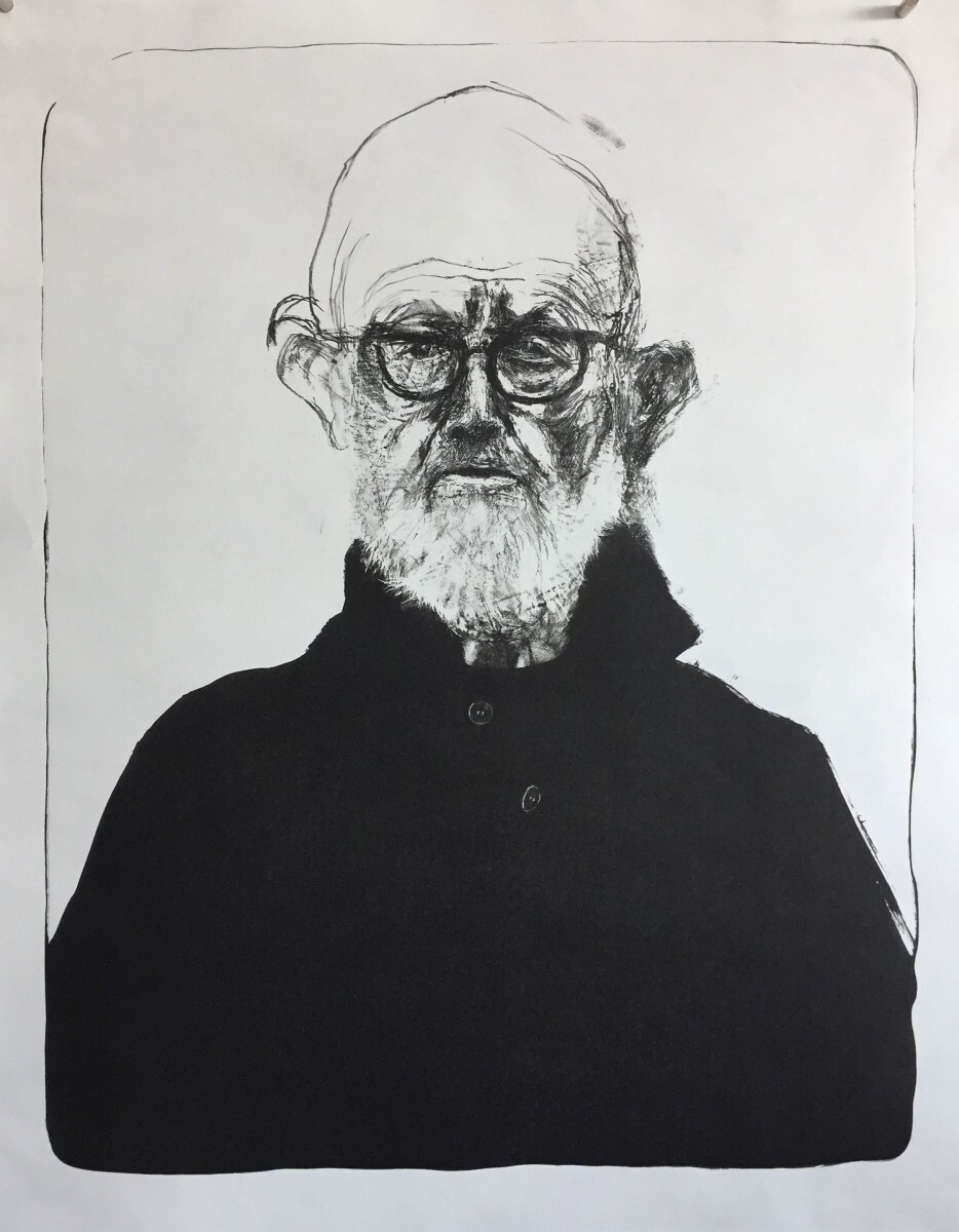 Jim Dine - Self-Portrait 4