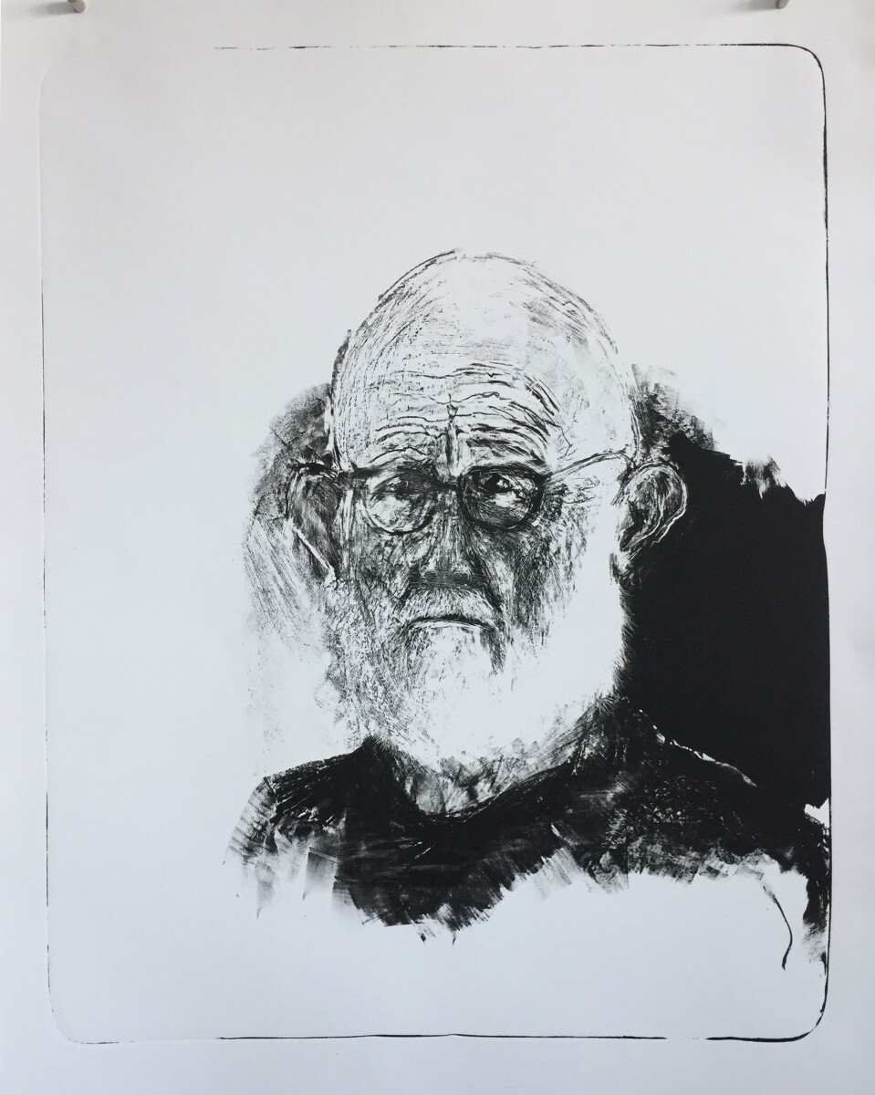 Jim Dine - Self-Portrait 3