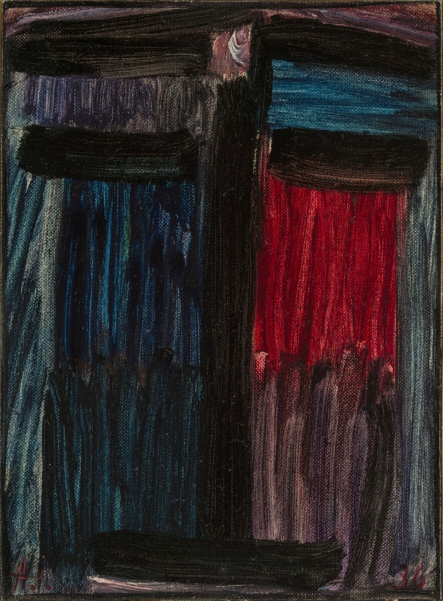 Alexej von Jawlensky - Large Meditation: before Night comes