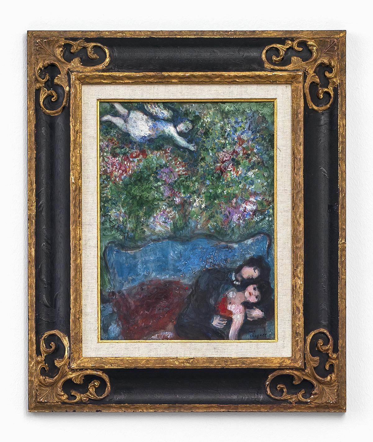 Marc Chagall - Sur le divan 2/2