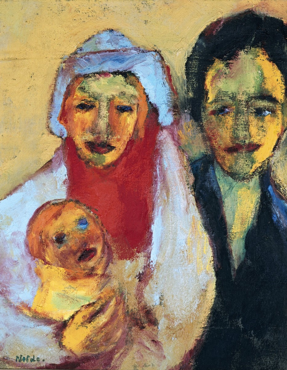 Emil Nolde - 'Young Family' 1/3