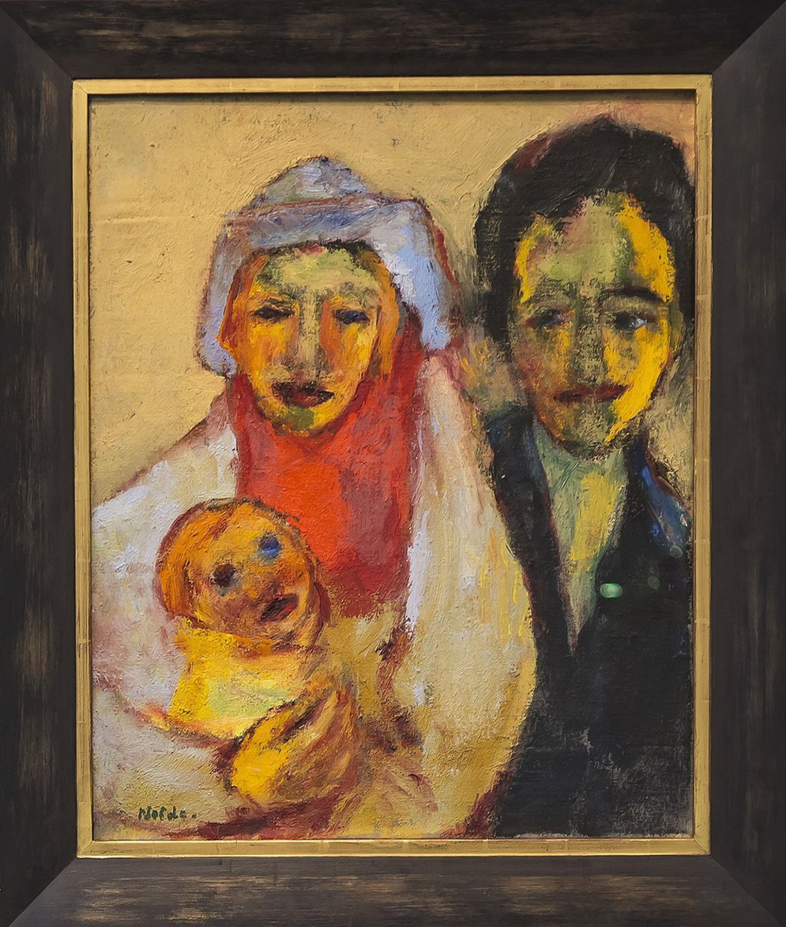 Emil Nolde - 'Young Family' 2/3
