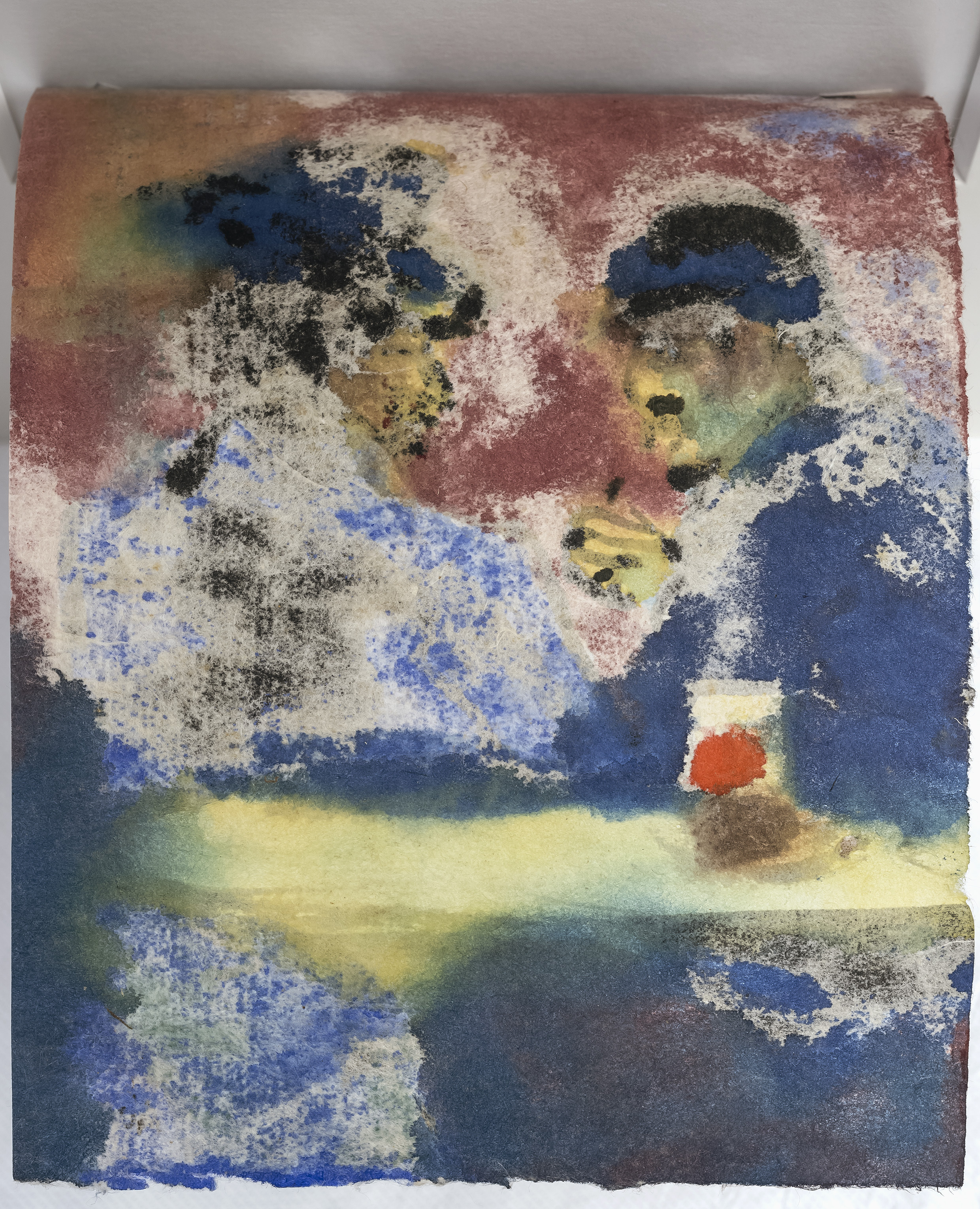 Emil Nolde - Pub Scene with Two Men at The Table 4/4